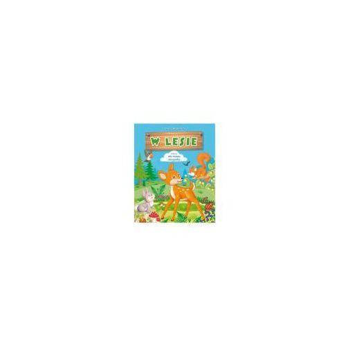 Książki dla dzieci, W lesie (opr. kartonowa)
