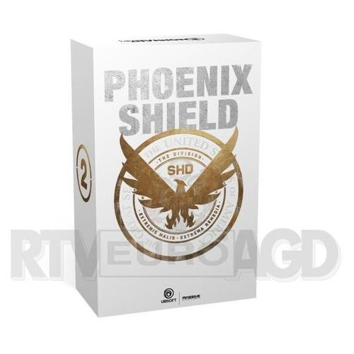 Akcesoria do PlayStation 4, Tom Clancy's The Division 2 - Edycja Gold + figurka Phoenix Shield