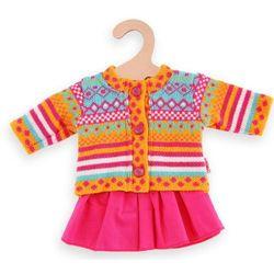 Heless zestaw ze swetrem i spódniczką Jolly dla lalek o wysokości 35-45 cm