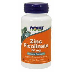 NOW Foods Pikolinian cynku 50 mg 60 kaps