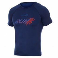 Koszulka męska Brubeck Running Air Pro SS13280 Granatowy