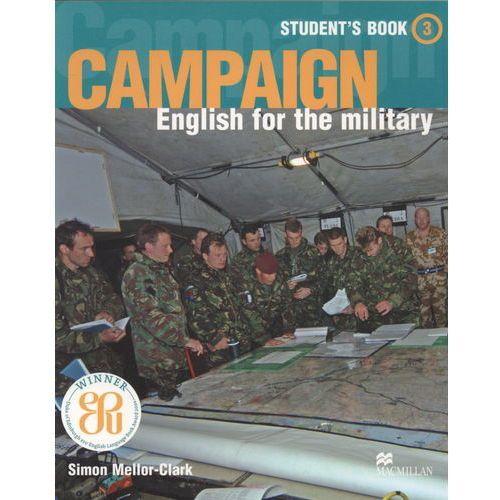 Książki do nauki języka, Campaign 3 Książka Ucznia (opr. miękka)