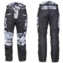 Męskie spodnie motocyklowe W-TEC Kaamuf, Black Camo, 4XL