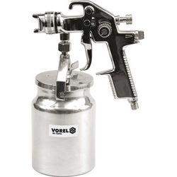Pistolet natryskowy hvlp 1000ml z dolnym zbiornikiem Vorel 80901 - ZYSKAJ RABAT 30 ZŁ