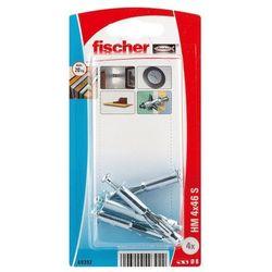 Kołki do g-k Fischer stalowe HM 4 x 46 mm 4 szt.