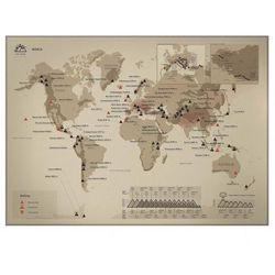 Mapa Zdrapka Świat Góry