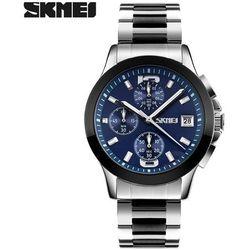 Zegarek męski SKMEI 9126 bransoleta blue - BLUE