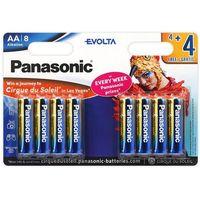 Baterie, 8 x Panasonic Evolta LR6/AA (blister)