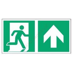 Znak Kierunek do wyjścia ewak. strz. w górę E02-GG