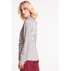 Damska bluzka z długim rękawem - Duet Woman