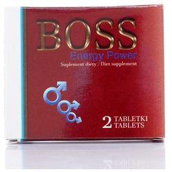 Boss Energy Power CZERWONY 2 tabl. NOWOŚĆ 500003