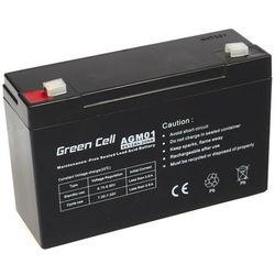 Akumulator AGM 6V 12Ah Green Cell
