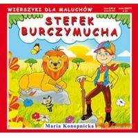 Książki dla dzieci, Stefek Burczymucha. Wierszyki dla maluchów (opr. twarda)