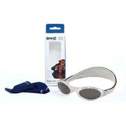 Okulary przeciwsłoneczne dzieci 0-2lat UV400 BANZ - Silver Leaf
