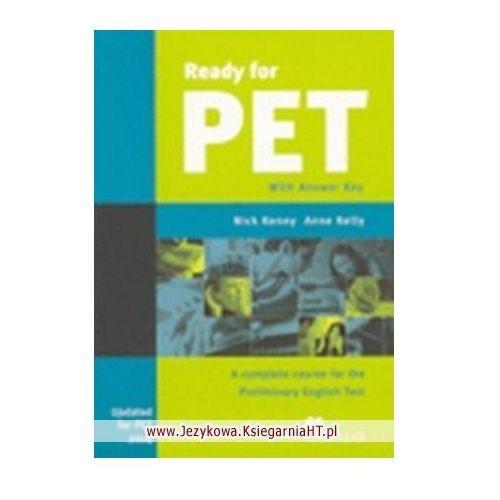 Książki do nauki języka, Ready for PET Student's Book (podręcznik) without Answer Key (opr. miękka)