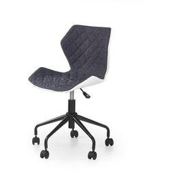 Swage fotel młodzieżowy szaro-biały