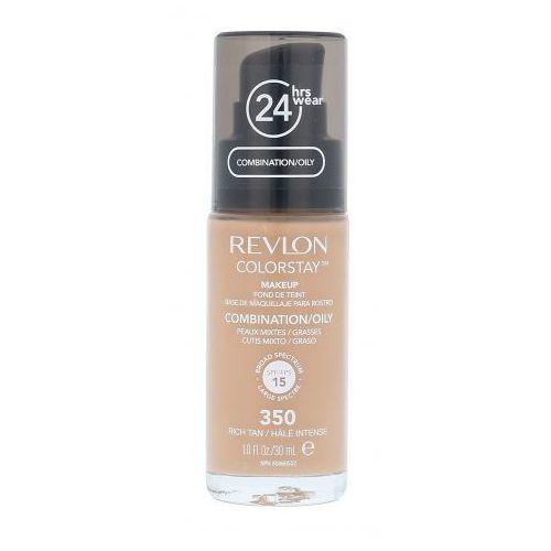Podkłady i fluidy, Revlon Colorstay Combination Oily Skin SPF15 podkład 30 ml dla kobiet 350 Rich Tan