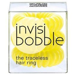 Traceless Hair Ring Submarine Yellow gumki do włosów 3szt - Invisibobble