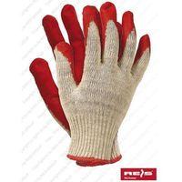 Rękawice robocze, RĘKAWICE GUMOWANE REIS WAMPIRKI roz.9