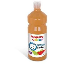 Farba tempera premium 1000 ml różowa - HAPPY COLOR