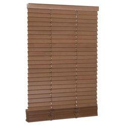 Żaluzja drewniana 40 x 150 cm dąb 27 mm INSPIRE
