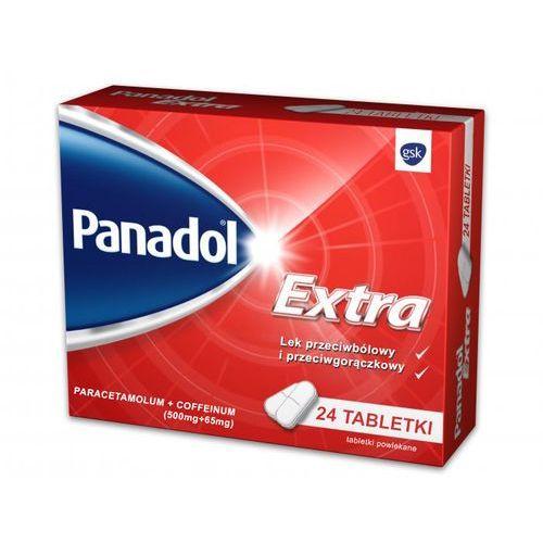 Leki na gorączkę, Panadol extra x 24
