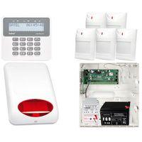 Zestawy alarmowe, ZESTAW ALARMOWY: Płyta główna Perfecta 16 + Manipulator PRF-LCD + 5x Czujnik ruchu + Akcesoria