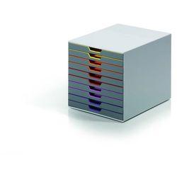 Pojemnik Durable Varicolor z 10 szufladami 761027