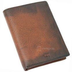 Daag Alive P-01 portfel skórzany męski / brązowy
