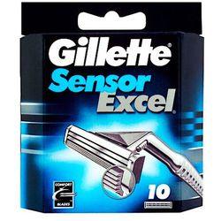 Gillette Sensor Excel 10 zapasowe ostrza