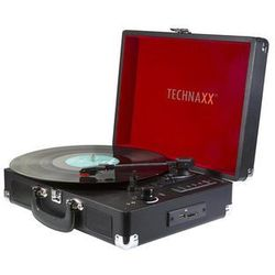 TECHNAXX TX-101 - turntable with digital recorder Gramofon - Czarny