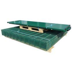 vidaXL Panele ogrodzeniowe 2D z słupkami 2008x1030 mm 46 m Zielone Darmowa wysyłka i zwroty