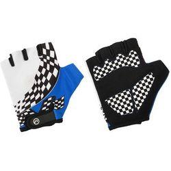 Rękawiczki dziecięce Accent Tommy biało-niebieskie L/XL