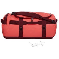 Torba podróżna The North Face Base Camp Duffel M II - cayenne red / regal red