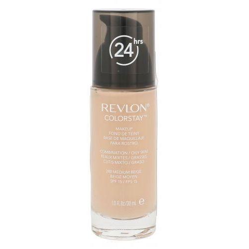 Podkłady i fluidy, Revlon Colorstay Combination Oily Skin SPF15 podkład 30 ml dla kobiet 240 Medium Beige