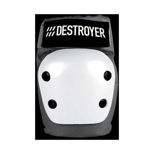 Ochraniacze na ciało, ochraniacze na łokcie DESTROYER - Rec Elbow Grey/White (GRW) rozmiar: S