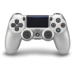 SONY gamepad PS4 DualShock 4 srebrny V2 - BEZPŁATNY ODBIÓR: WROCŁAW!