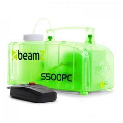Beamz S500PC wytwornica mgły RGB LED 500 W z fluidem do wytwarzania mgły przezroczysta