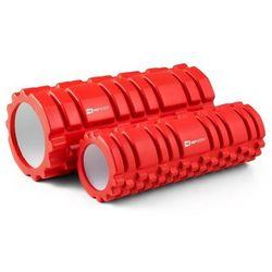 Wałek Roller do masażu i jogi 2w1 HS-00YG Hop-Sport - czerwony
