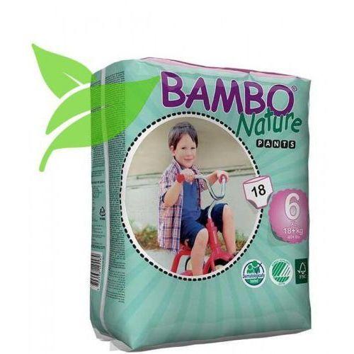 Pieluchy jednorazowe, Eko Pieluchomajtki XL Jednorazowe 18+ kg (18szt.), Bambo Nature, ABENA