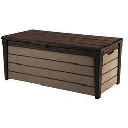 KETER skrzynia ogrodowa BRUSHWOOD box 455 L brąz