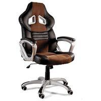 Fotele dla graczy, Fotel gamingowy Unique DYNAMIQ V15 czarny-brązowy