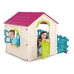 Domek dla dzieci Curver Keter MY GARDEN HOUSE fioletowy - kremowy
