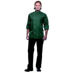 Bluza kucharska męska, rozmiar 46, oliwkowa | KARLOWSKY, Lars