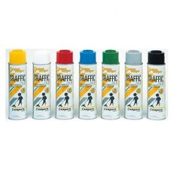 Specjalny spray do znakowania Traffic, żółty