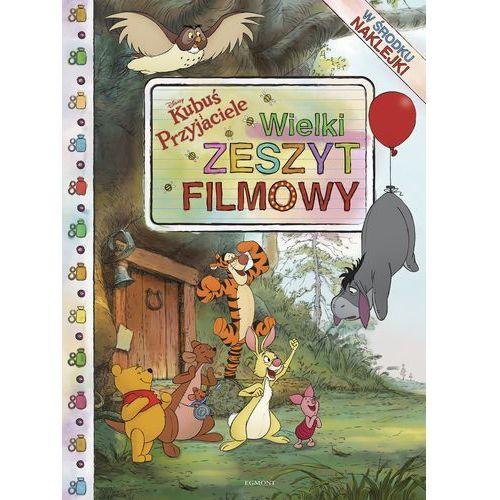 Książki dla dzieci, KUBUŚ I PRZYJACIELE WIELKI ZESZYT FILMOWY - Wysyłka od 3,99 (opr. twarda)