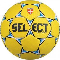 Piłka ręczna Select Grib Soft żółta rozmiar 2