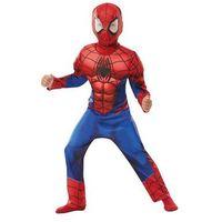 Przebrania dziecięce, Kostium Deluxe Spiderman z mięśniami dla chłopca - Roz. S