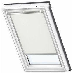 Roleta na okno dachowe VELUX manualna Standard DKL MK04 78x98 zaciemniająca beżowa