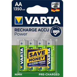 VARTA Rechargeable ACCU AA 1350 mAh (4 szt.)